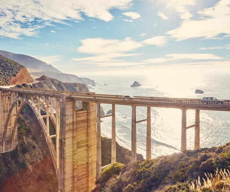 sur big bridge in california